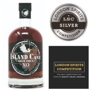 silver medal rhum island XO LSC london