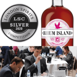 Medaille argent London spirits competistions