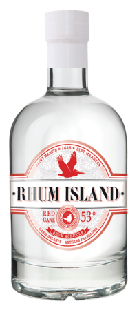 Rhum island red cane